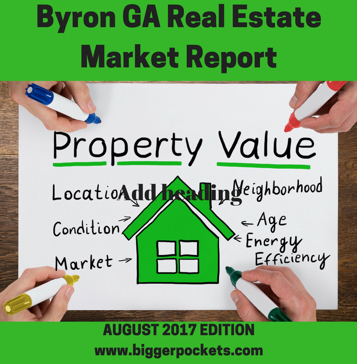 Byron ga real estate market report for august 2017