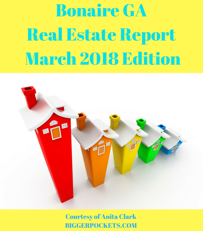 Bonaire ga real estate report   march 2018 edition