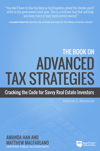 The Book on Advanced Tax Strategies book cover