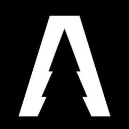 Large arcadial pine logo