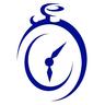Medium clockwork logo royal blue  sm