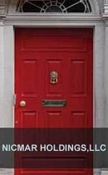 Large red door image small