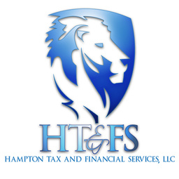 Large hampton financial logo