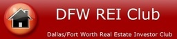 Large dfw rei club logo and name website shorter vers