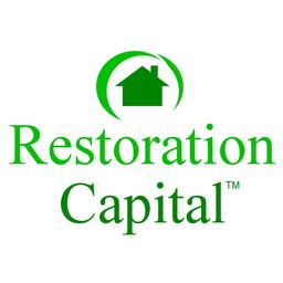 Large restorationcapital vertical logo square png