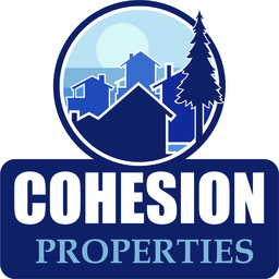 Large cohesion properties logo vertical