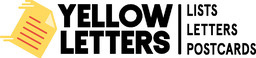 Yellow Letters Logo