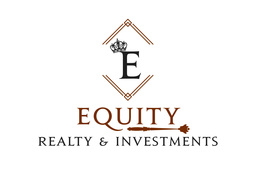 Large equity logo  white background