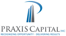 Large praxis capital logo cmyk stacked 900px