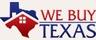 Medium we buy texas logo small compressed white bg