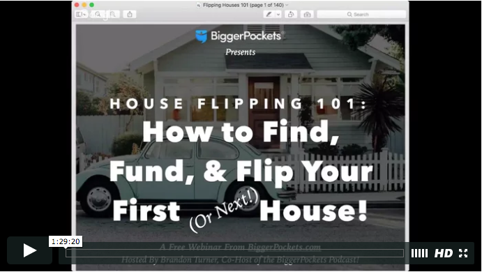House flipping 101 how to find  fund  and flip your first  or next  house