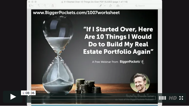 If i started over  here are 10 things i would do to build my real estate portfolio again