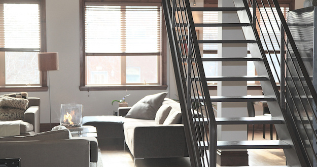 Lead stairs home loft lifestyle