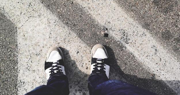 Lead crosswalk feet pair 68257
