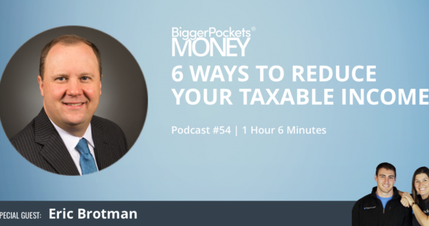 Using Fidelity Self Directed Ira Biggerpockets >> 6 Ways To Reduce Your Taxable Income With Eric Brotman