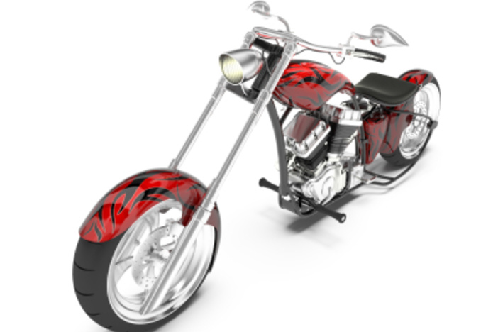 Chopper Motorcycle and real estate