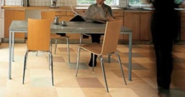 marmoleum tile flooring green