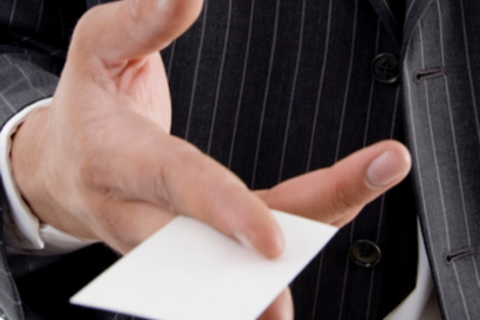 Real estate business card marketing