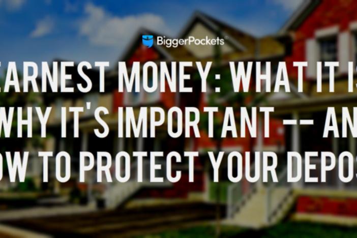earnest-money