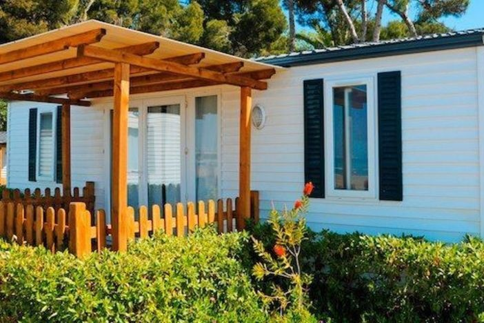 The 10 Most Common Problems with Older Mobile Homes Mobile Home Setting A Pit on design a mobile home, blocking a mobile home, setting footers for modular home,